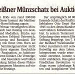 SZ 14.01.2016 Meißner Münzschatz bei Auktion