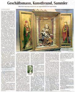 Geschäftsmann, Kunstfreund, Sammler Otto Horns Nachlass erweist sich als segensreich für die Stadt Meißen